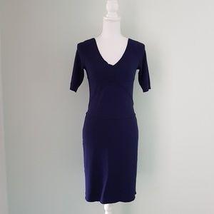 Piazza Sempione blue sheath dress